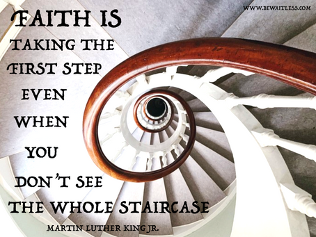 Day 36: The courage of Faith