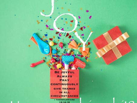 Day 25: Joy