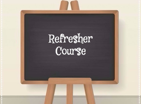 Day 12: Refresher Course