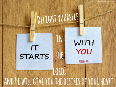 Day 27: Your Desires