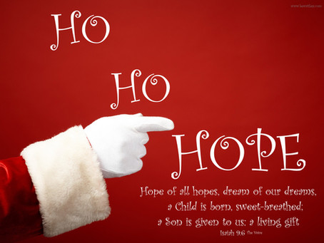 Day 6: Ho Ho Hope