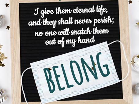 Day 17: You Belong