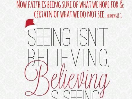 Day 5: Believing Faith