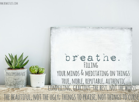 Day 19: Just Breathe