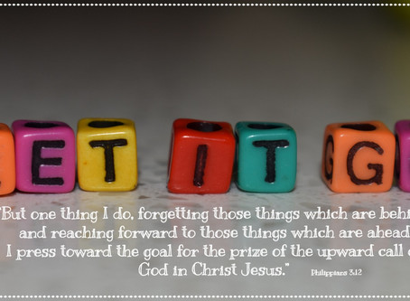 Christian~ese 101: Letting Go