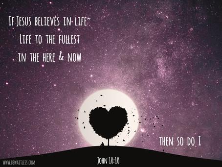 Day 15: Fullness of Life