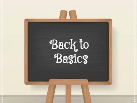 Day 25: Back to Basics
