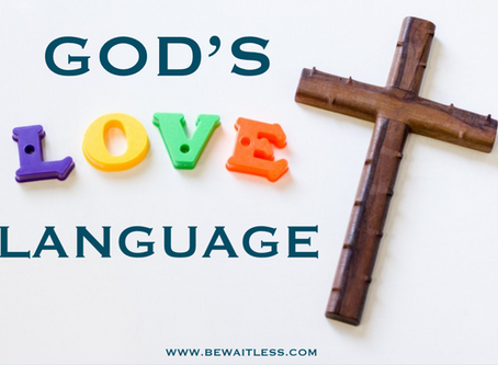 Day 31: God's Love Language