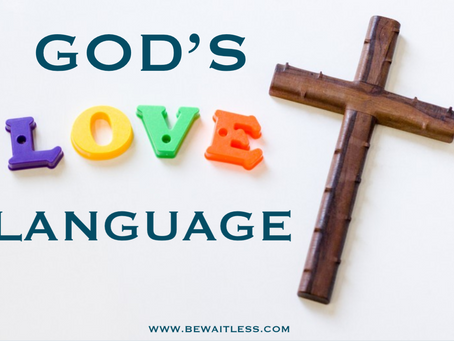 Day 31: God's Love Language