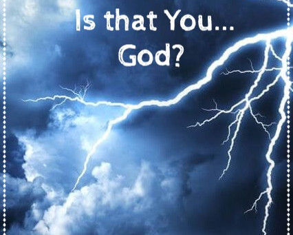 Is God Angry?