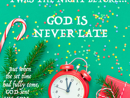 Day 24: Twas the Night Before