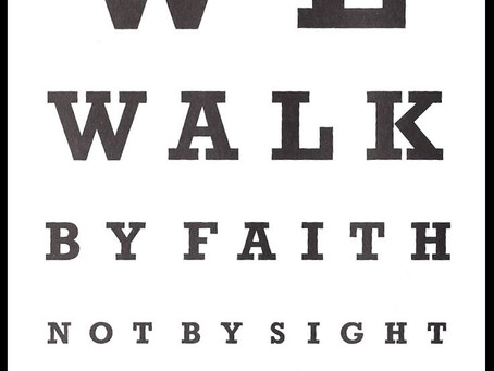 Day 28: Walking Blind