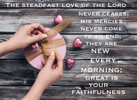 Day 10: Love's Faithfulness