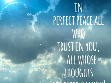 Day 35: Perfect Peace