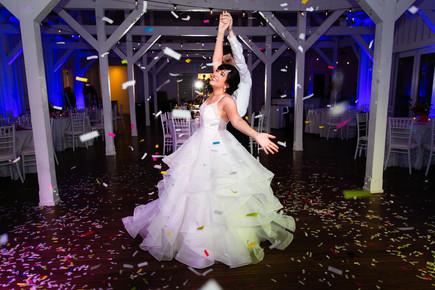 Twirling Happy Bride