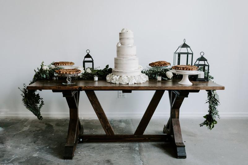 Dessert Table Spread