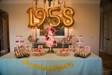 Birthday Party Dessert Display