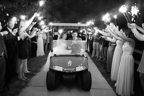 Golf Cart Sparkler Exit