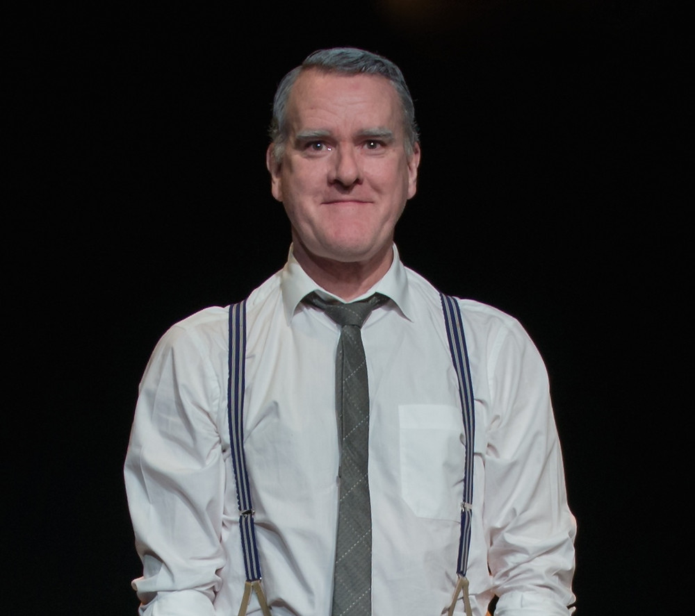Mikel Murfi in I Hear You And Rejoice. Photo by Vitality Pilaster