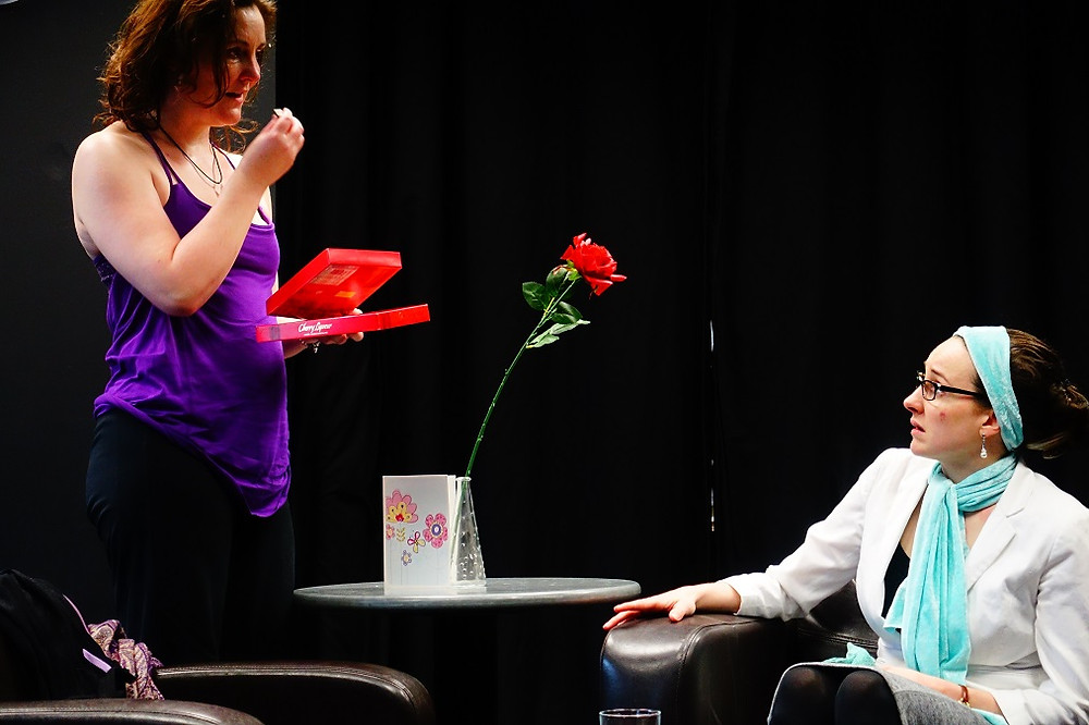 Cherley Kane and Sophie Cambell in The Possible. Photo by Momentum Acting Studios