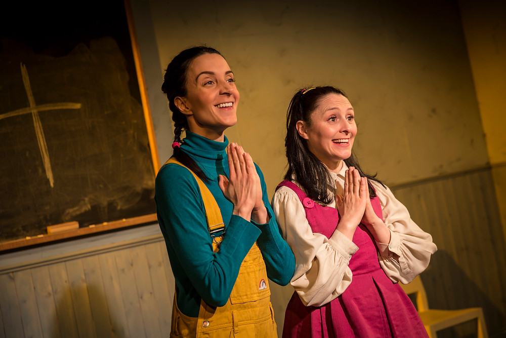 Maeve Fitzgerald and Marry Murray in Holy Mary. Photo by Ste Murray