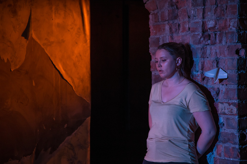Roxanna Nic Liam in I See You. Photo by Adam Real