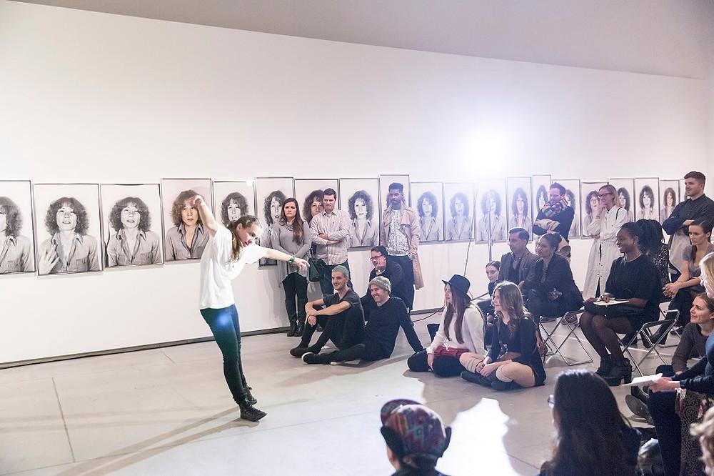 Performance About a Woman by Liz Peterson/Rose Plotek