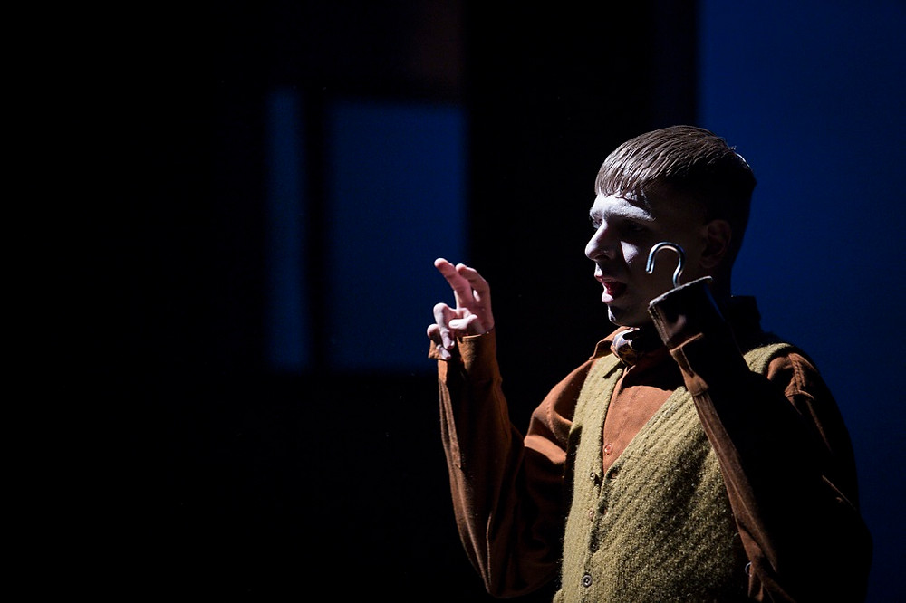 Peter Corboy as Addison in The Water Orchard. Photo by Ste Murray