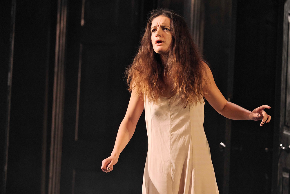Aoife Duffin in Hamlet. Image by Ros Kavanagh