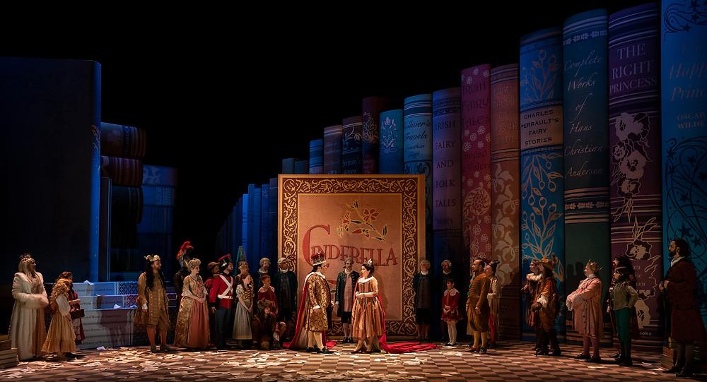 Cast of Cinderella/La Cenerentola, Image by Pat Redmond.