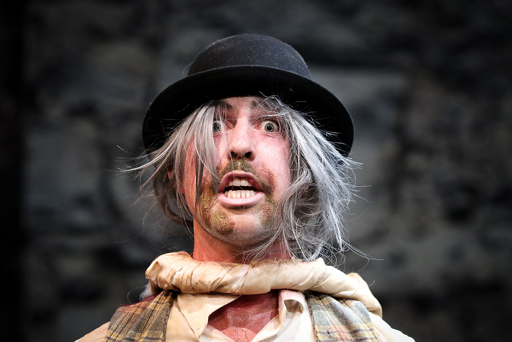 Rex Ryan in Waiting For Godot. Image by Tom Maher.