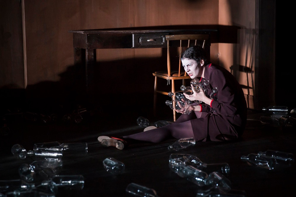 Breffni Holahan as Bea in The Water Orchard. Photo by Ste Murray