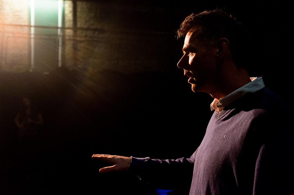 Michael O'Kelly as Billy in Eden. Photo by Pavel Sedlacek