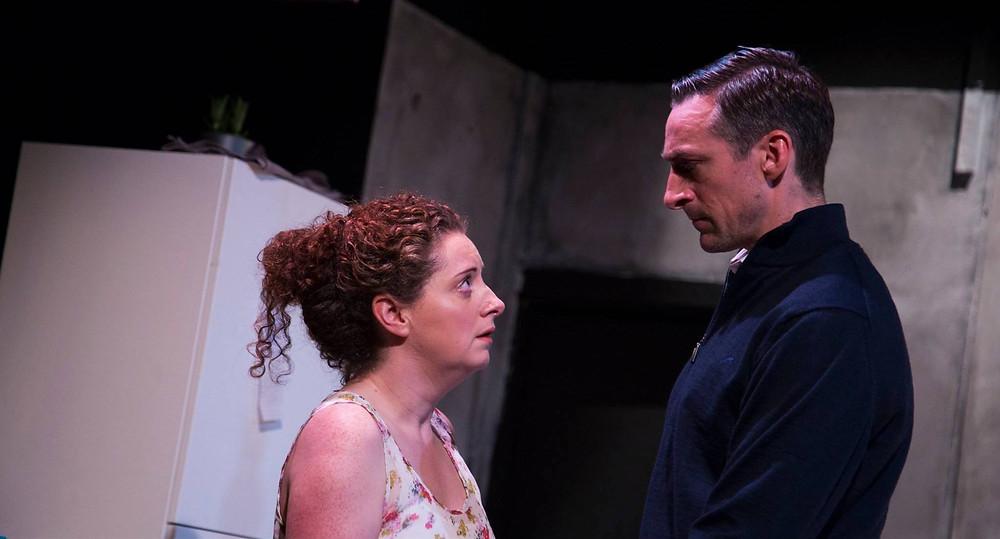 Melissa Nolan and Marcus Lamb in The Harvest. Image Al Craig