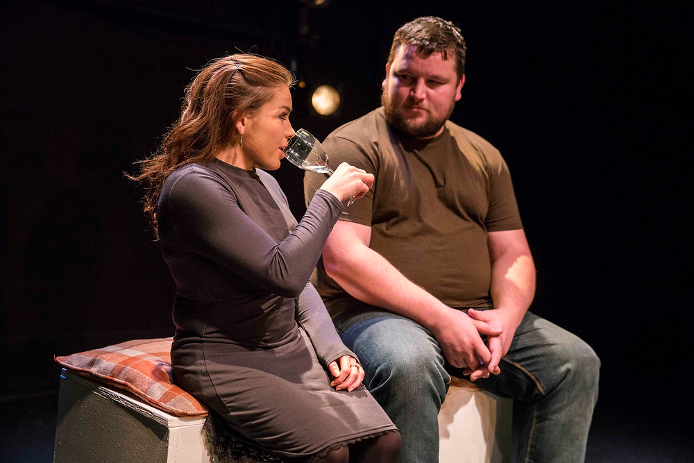 Gráinne Callahan and John Connors in Mainstream.  Photo Pat Redmond