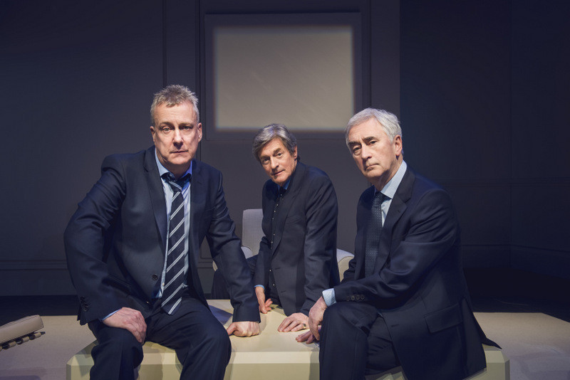 Stephen Tompkinson, Nigel Havers and Denis Lawson in Art. Photo uncredited