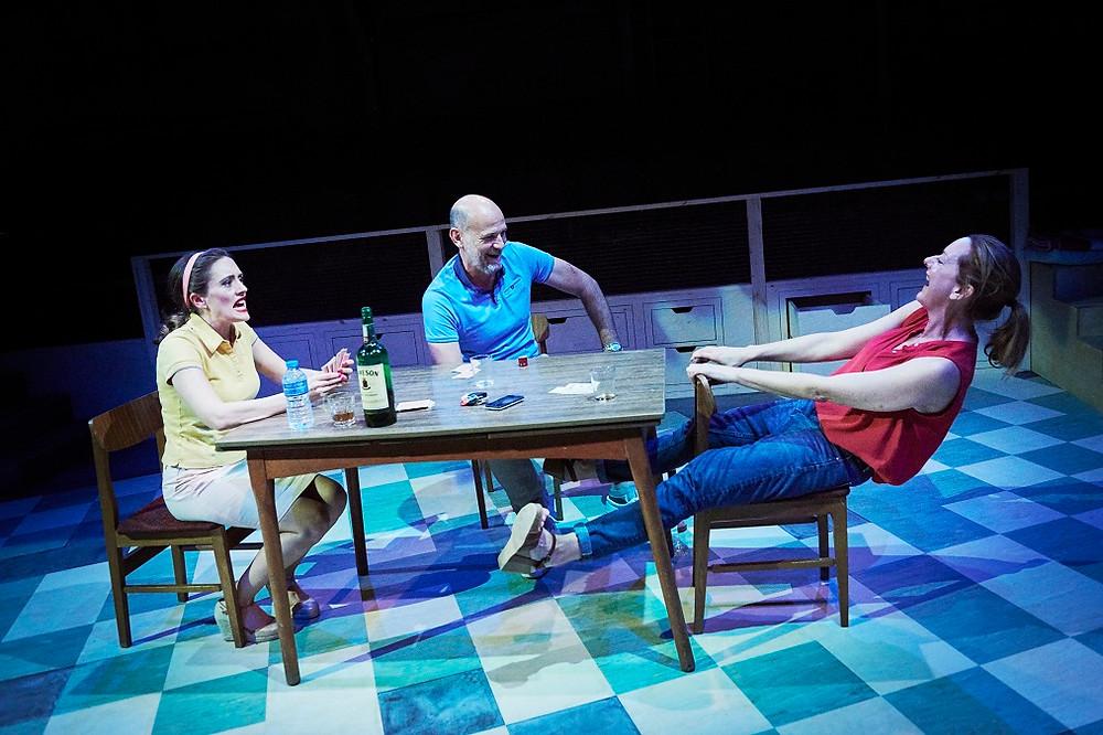 Rebecca O'Mara, Paul Hickey and Cathy Belton in 'Helen and I'