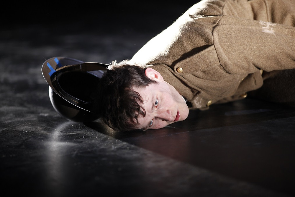 Shane O'Regan in Private Peaceful. Photo by Tom Lawlor