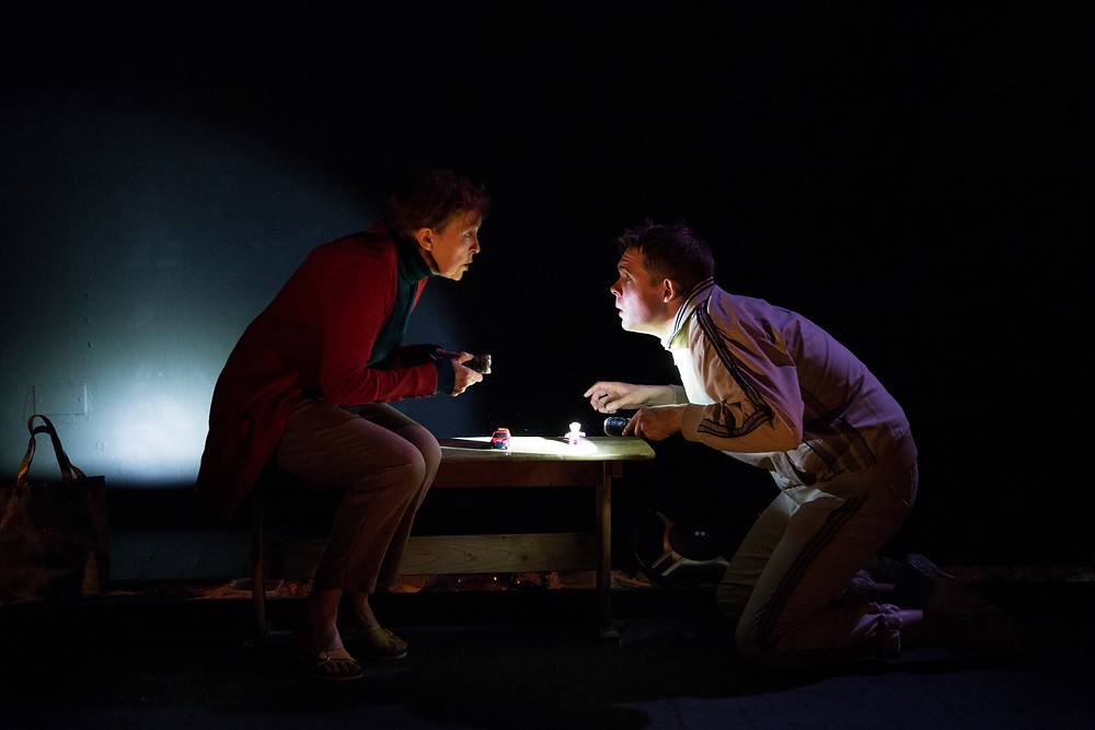 Ann Russell and Killian Filan in The Tide. Image by Al Craig