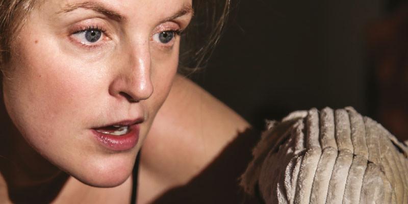 Lauren Kinsella in 'The Last Siren.' Photo Dublin Theatre Festival