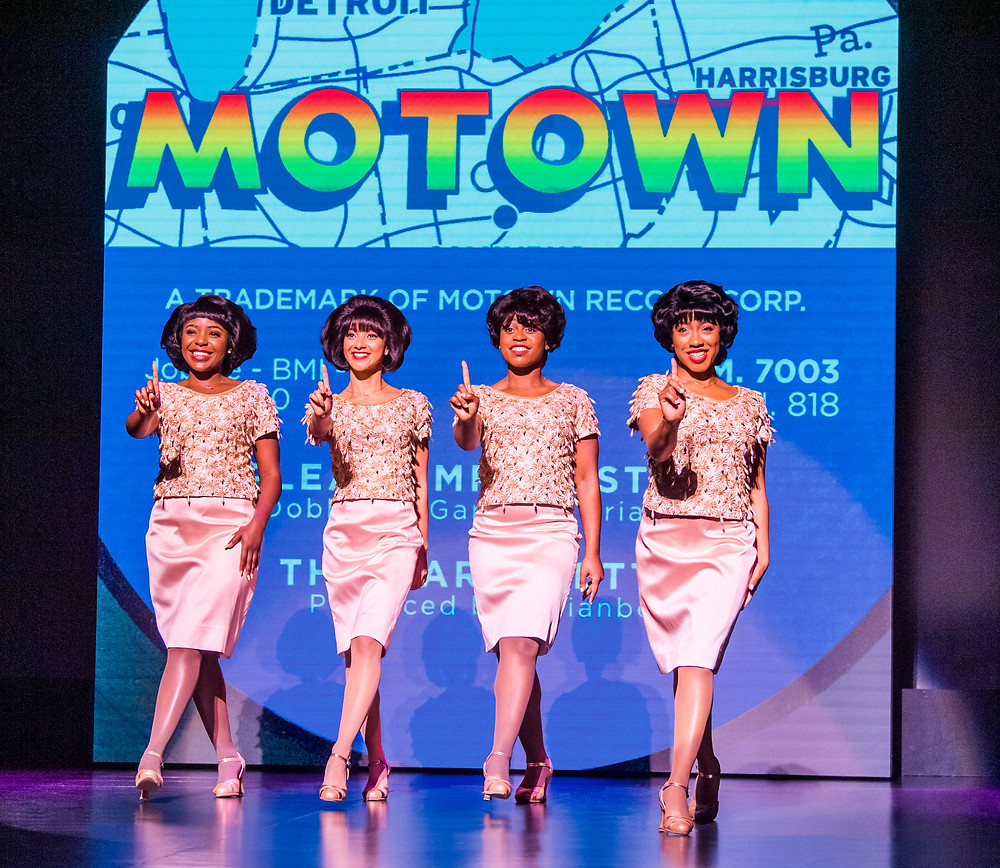 MOTOWN THE MUSICAL. Photo Tristram Kenton