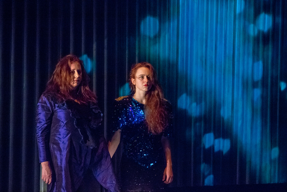 Mary Coughlan and Erin O'Reilly in Woman Undone. Image by Simone J Rudolphi