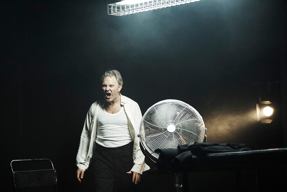 Louis Lovett in Michael West's FRNKNSTN. Image by Ros Kavanagh