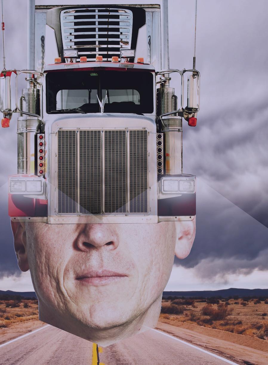 Trucker by Shenoah Allen. Photo uncredited