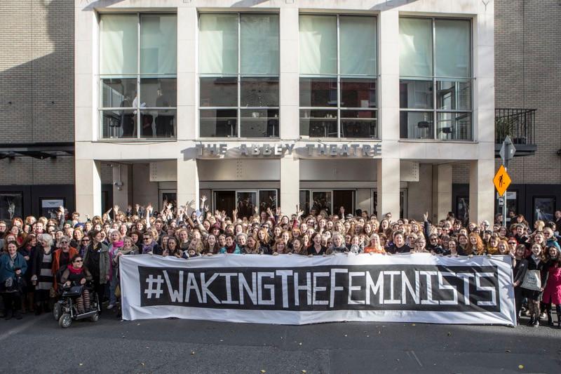 #wakingthefeminists November 2015. Photo by Fiona Morgan