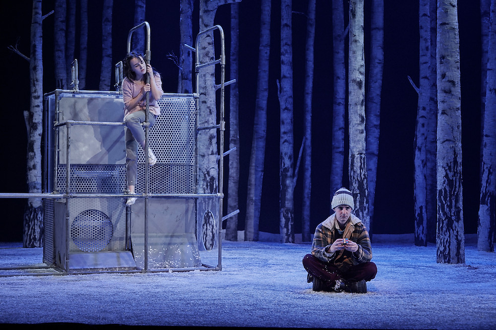 Katie Honan and Craig Connolly in Let The Right One In. Photo by Ros Kavanagh