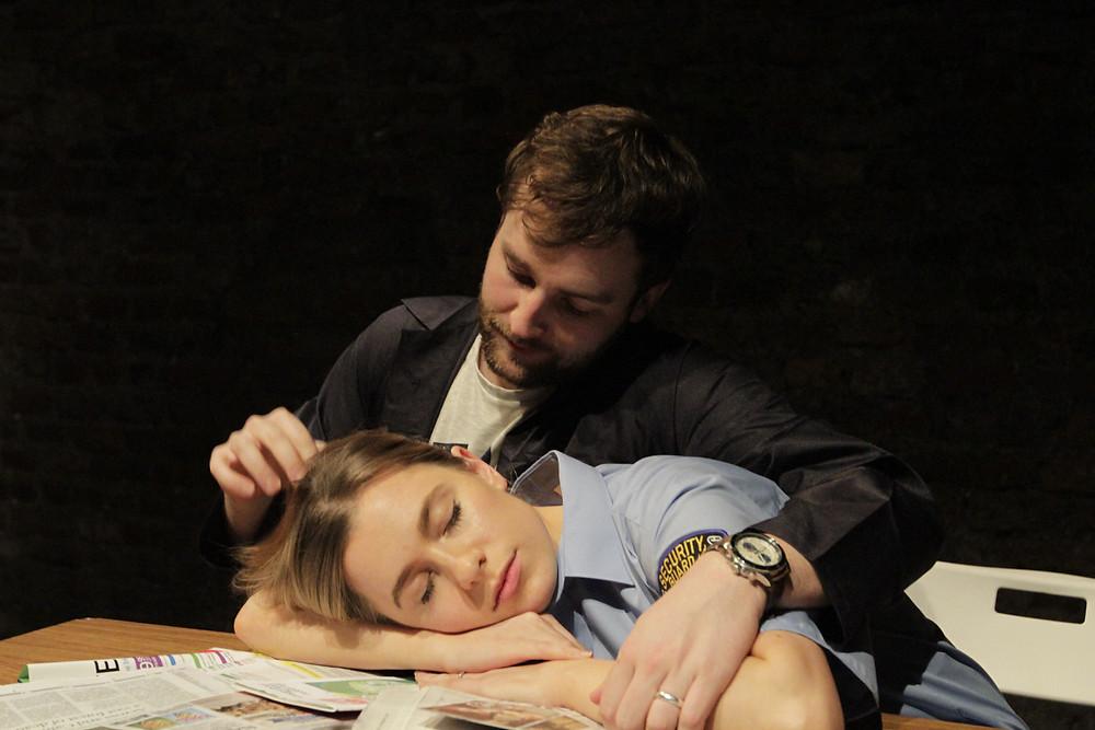 Killian Coyle and Ally Ryan. Photo by Conor Sweeney