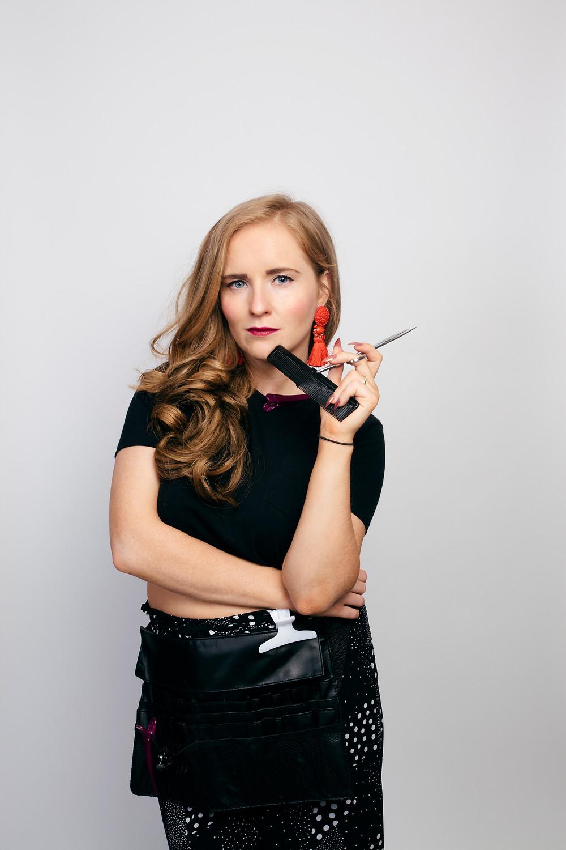 Lauren Larkin in Split Ends. Image by Cáit Fahey