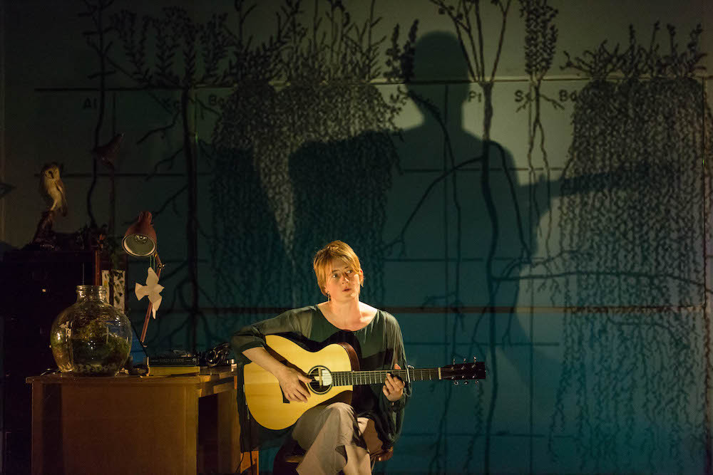 Karine Polwart in Wind Resistance. Photo by Aly Wight