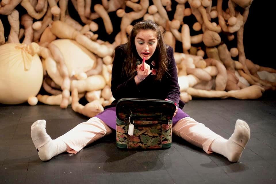 Danielle Galligan in We Can't Have Monkeys In The House by Ciara Elizabeth Smyth. Image uncredited.